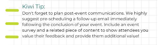 kiwi-tip-post-event-communications