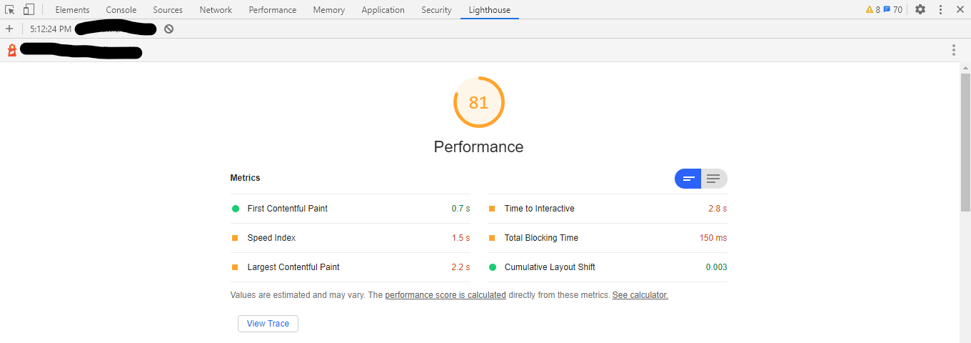 lighthouse-page-performance-screenshot