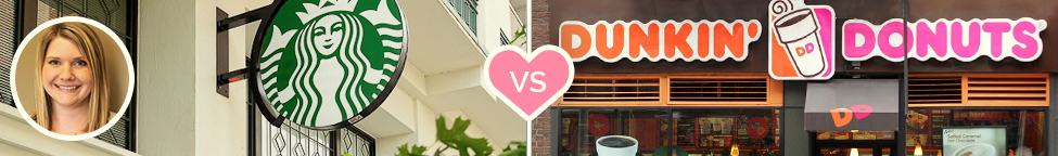 Best vs. Worst Branding: Starbucks vs. Dunkin' Donuts