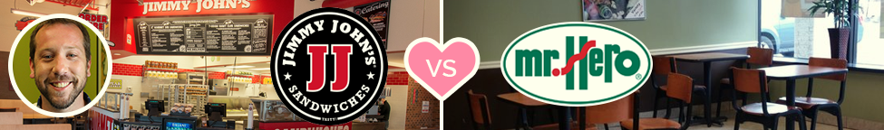 Best vs. Worst Branding: Jimmy John's vs. Mr. Hero