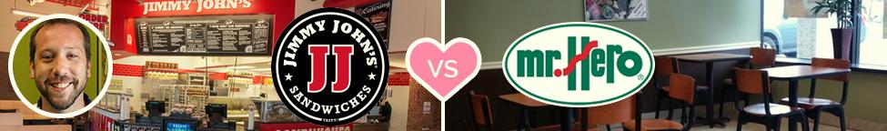 Best vs. Worst Branding: Jimmy John's vs. Mr. Hero