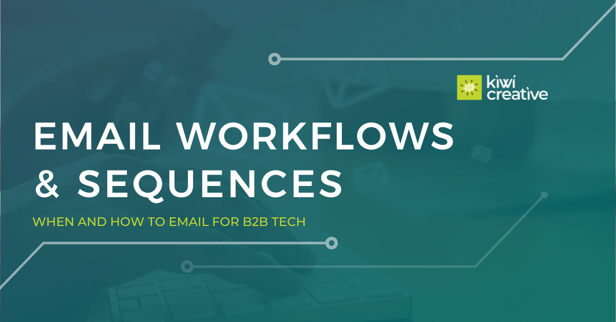 email workflows and sequences blog hero