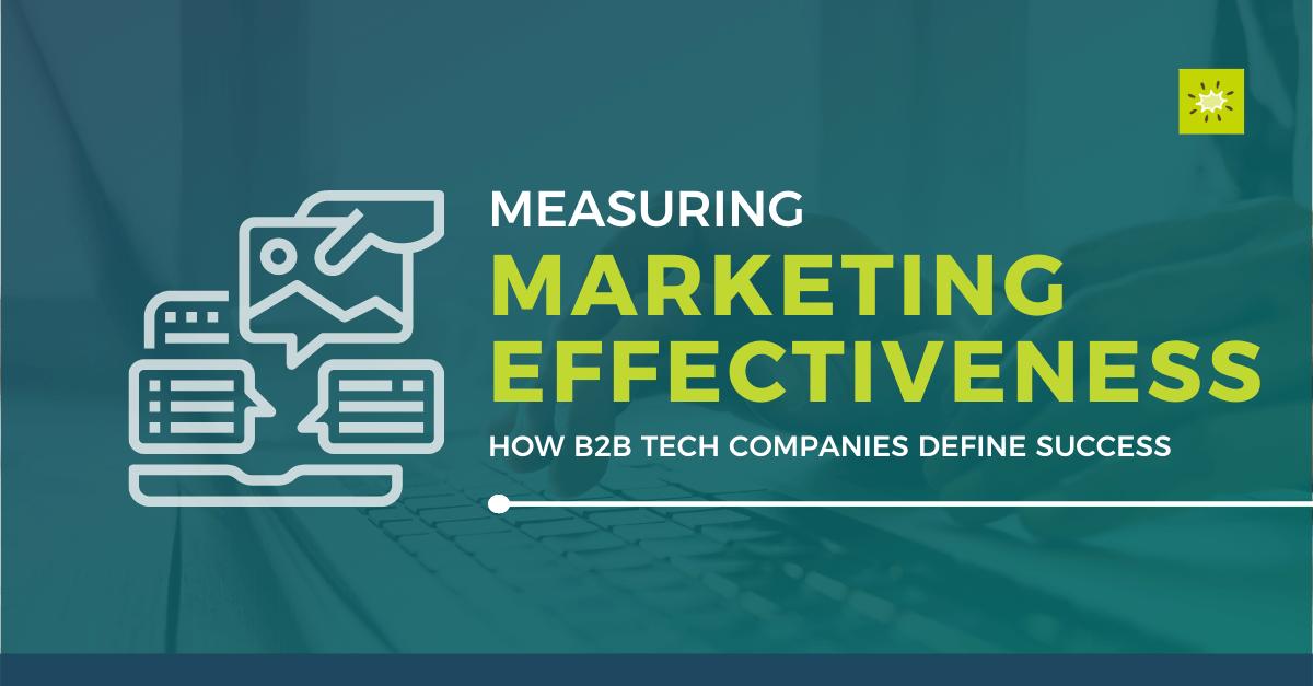 measuring marketing effectiveness blog header image