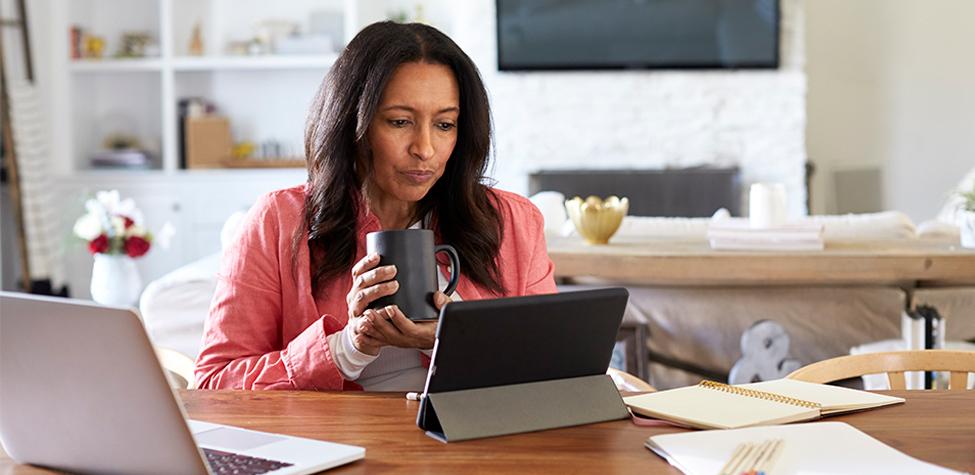A tech sales person creating a crisis communication plan